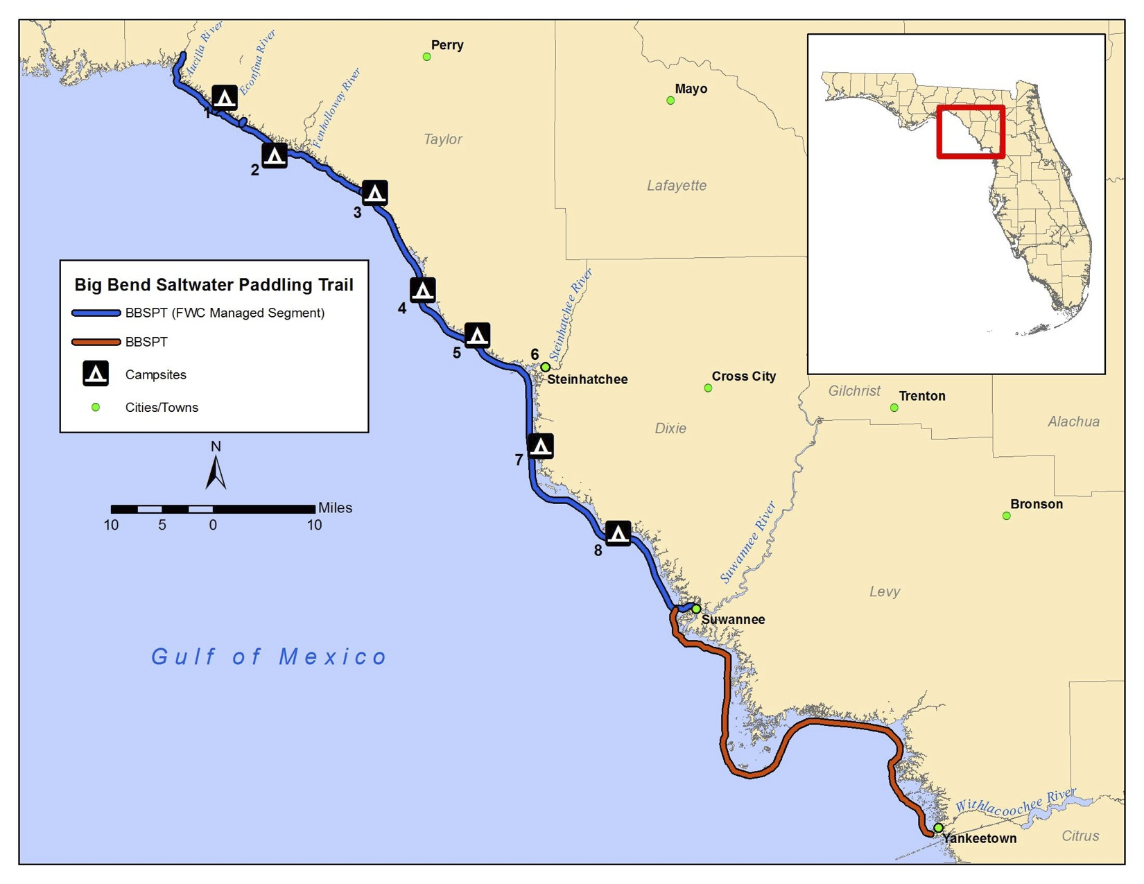 Big-Bend-Saltwater-Paddling-Trail-Overview-Map